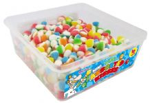 Candy Factory Mini Assorted Kisses Tub Of 800 (HALAL)